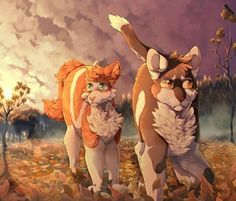 Brightheart and Swiftpaw