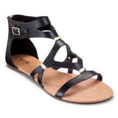 309db21fbfc1 Expect More. Pay Less. Black Gladiator SandalsShoes ...