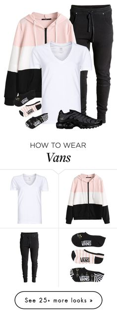 """Untitled #2462"" by hope-houston on Polyvore featuring MANGO, NIKE and Vans"