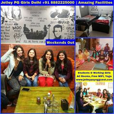 Jetley Paying Guest PG For Girls Hostel South Delhi, Delhi - Is A Beautiful Builder Built Modern Paying Guest Accommodation For Girls / Student Accommodation Center For Girls / Youth Hostel For Girls / Girls Hostel / Working Girls Hostel Providing Affordable, Clean, Homely & Secure Boarding / Lodging Facilities For Girls Students Of Delhi University (DU) / Working Girls / Working Women In Delhi. It Provides Some Amazing Facilities.