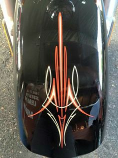 Pinstripe Art, Pinstriping Designs, Harley Davidson Art, Garage Art, Custom Harleys, Airbrush Art, Arte Pop, Funny Art, Painted Signs