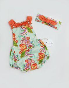 Girl Summer Romper  2/3 Yrs  Baby Girl by LLPreciousCreations