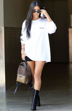 A lady who values education: Kourtney is the only Kardashian sister who managed to get a c...