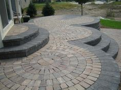 patio design ideas with pavers | Paver Patio | Garden Patio Designs UK