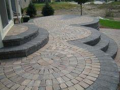 patio design ideas with pavers | Paver Patio | Garden Patio Designs UK