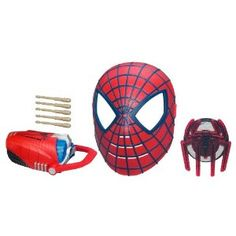 The Amazing Spider-Man Deluxe Rapid-Fire Web Shooter Pack,$29.99