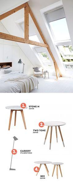 Sypialnia na poddaszu - inspiracja...
