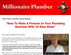 Become a Millionaire Plumber