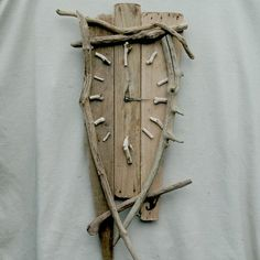 DRIFTWOOD CLOCK LARGE~QUIRKY CLOCK~DRIFTWOOD FURNITURE