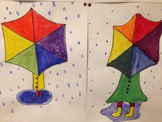 Erilainen väriympyrä - 4.lk Art For Kids, Photo Illustration, Art For Toddlers, Art Kids