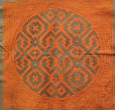 Shipibo 74- - why is this going on quilt concepts? Someone is trying to figure out how to design a quilt based on Peruvian Shipibo designs. That someone is me.  See my quilt concepts board to see my progress. It is happening.
