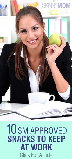 10 Snacks That Are Great For Work!!!!