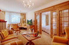 Suite Alpenpalace in the Hotel Alpenpalace