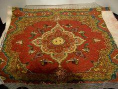 Beautiful Victorian Look Vintage Heavy Cotton Fabric by jamesdorn, $19.99