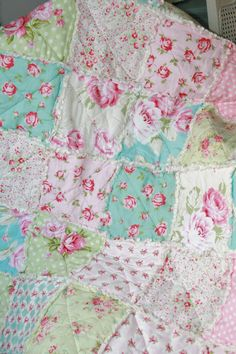 Hey, I found this really awesome Etsy listing at https://www.etsy.com/listing/259146588/crib-rag-quilt-baby-girl-crib-bedding