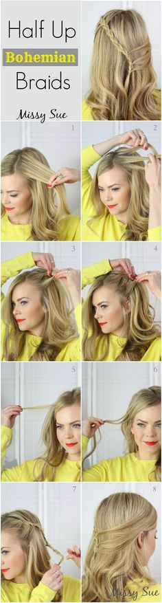 Peinados que puedes hacer tú misma.