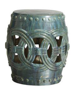 Pottery Barn Look-Alikes: Save 281.00 @ Home Decorators vs Williams-Sonoma Linked Circles Garden Seat