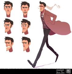 James Ious | CHARACTER DESIGN REFERENCES