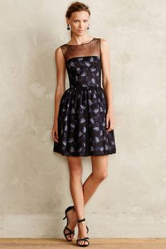 #Evening #Lilies #Silk #Dress #Jill #Stuart #Anthropologie