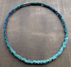 Seacolors for this crochet necklace by zsazsazsu1963 on Etsy, €45.00