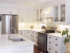 Diaries of an Interior Design Mom! All White Kitchen, Kitchens, Kitchen Cabinets, Urban, Mom, Interior Design, Home Decor, Nest Design, Home Interior Design