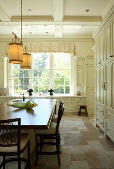 cabinets under window