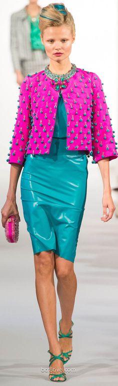 Del inolvidable Oscar De La Renta  2013 ... una gran pérdida para el mundo de la moda y el diseño ...