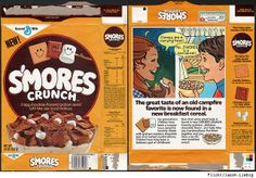 I didn't know they stopped making S'mores Crunch. I loved this stuff.
