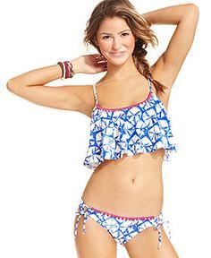 c7b2f8083 Bathing Suits for Juniors - Juniors Swimwear   Swimsuits - Macy s