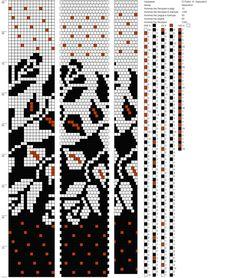 Ух, какая красота! ГОТИКА на 15<br>В дополнение к этой схеме ( для того, чтобы рисунок был в средней части жгута) нарисовались крапинки, тоже на 15<br><br>Схема в доступе, диктовалка платная