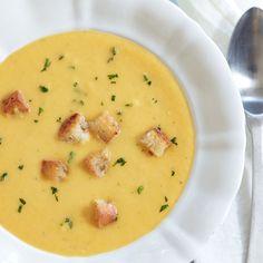 schnelle Pastinaken-Möhren-Cremesuppe
