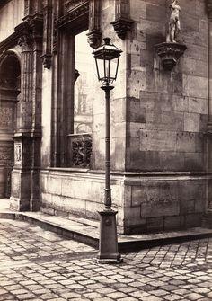 14. Lamppost, Entrance to the École des Beaux-Arts, ca. 1870