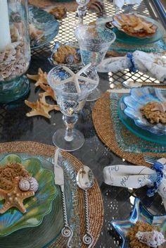 Stella marine decorative - Spunti da cui prendere ispirazione per apparecchiare la tavola in stile marina.
