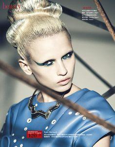 Beauty To Future | Anja Konstantinova | Yossi Michaeli #photography | Vogue Taiwan August 2012