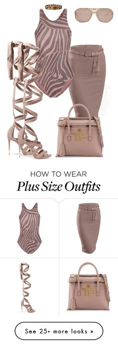 """""""Untitled #872"""" by styledbyjovon on Polyvore featuring adidas, Schutz, Tom Ford and CÉLINE City Outfits, Fashion Outfits, Fashion Trends, Plus Size Summer Fashion, Cheap Toms Shoes, Plus Clothing, Going Out Outfits, Dress For Success, Beige"""