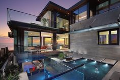 Contemporary Beach House in Dana Point, California