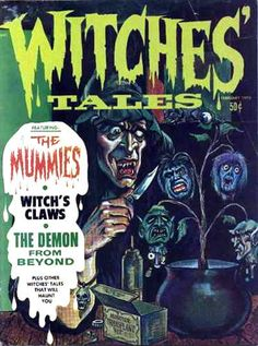 Witches' Tales Vol. #2 Issue #1 (Feb. 1970)