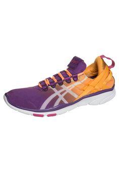 online store ddee3 aee06 ASICS GEL FIT SANA Sports shoes purple magic white nectarine