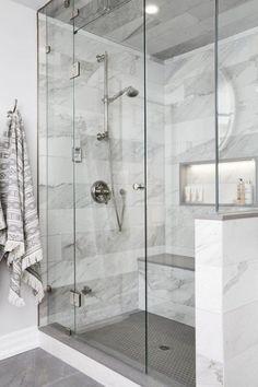 Bathroom Shower Remodel Ideas Fashionable bathroom shower bench ideas that will impress you Architec Minimal Bathroom, Modern Bathroom, Master Bathroom, Bathroom Marble, Bathroom Mirrors, Basement Bathroom, Seashell Bathroom, Aqua Bathroom, Bathroom Fixtures