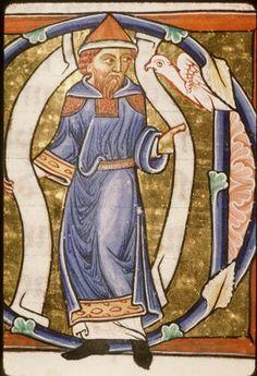 Bibl. Sainte-Genevieve 0009, f143v, 1175-1200, France.