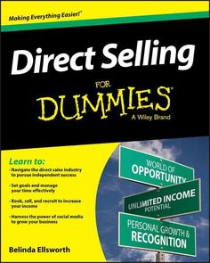 Become a direct sales success story with this insider guide to making it big Direct Selling For Dummies is the perfect resource for anyone involved or interested in direct sales. Written by a 35-year