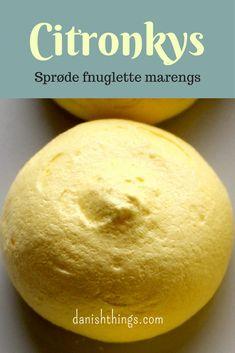 Citronkys - citronmarengs - fransk marengs - find opskriften på danishthings.com © Christel Danish Things