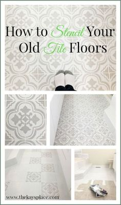 Kitchen Floor Stick On Tiles . Kitchen Floor Stick On Tiles . How I Painted and Stenciled My Old Outdated Tile Floor Stick On Tiles, Stenciled Floor, Floor Decor, Painting Bathroom, Flooring, Painting Tile Floors, Kitchen Floor Tile, Porch Paint, Vinyl Flooring