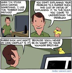 The Rubber Duck Method   http://ift.tt/2eO0f1u via /r/funny http://ift.tt/2fosUq0  funny pictures