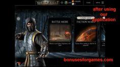 get Souls and koins for Mortal Kombat X hack and cheats free http://bonusesforgames.com/mortal-kombat-x-cheats/