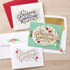 Berry Merry Photopolymer Bundle by Stampin' Up!