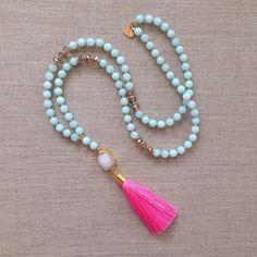 The Shelly Tassel Necklace by LovesAffect on Etsy