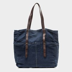 RISSETTO Canvas Six Pocket Tote