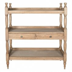 Rack of shelves with 2 drawers - Trade Secret