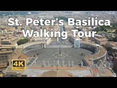 Peter's Basilica Walking Tour in October of 1974 Virtual Museum Tours, Virtual Tour, Virtual Travel, Virtual Field Trips, Home Learning, Kirchen, Walking Tour, Places To See, Travel Destinations